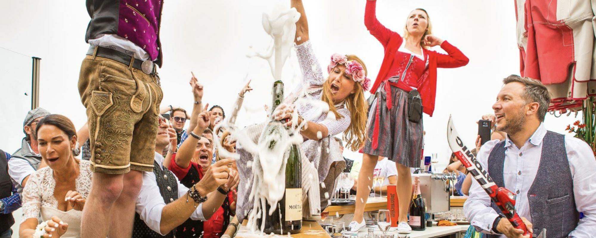 Feste feiern am Penken